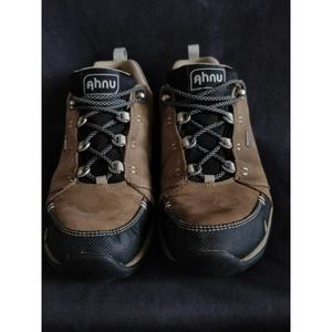 Ahnu by Teva Brown Lace Up Hiking Sneaker Boot 7.5